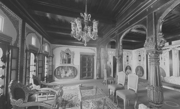 Kultúrny objekt interiér